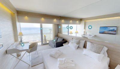 Mediterranean Hotel Rhodes City 3D Model